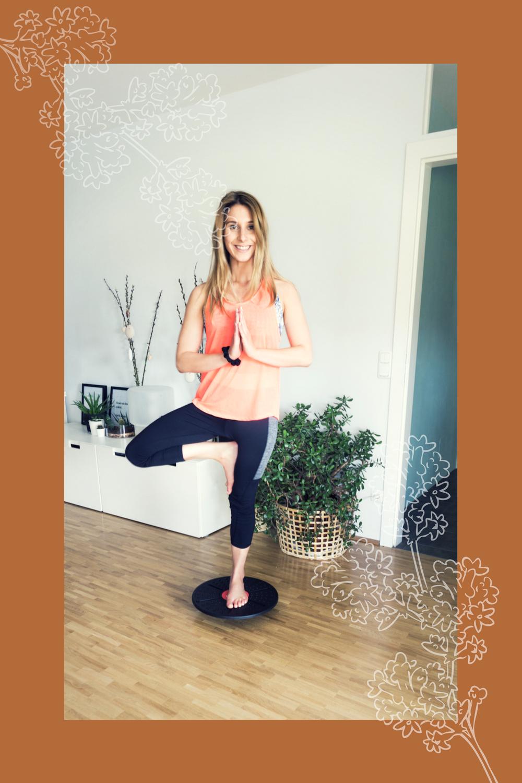 Balance Board - Mehr Gleichgewicht und Stärke