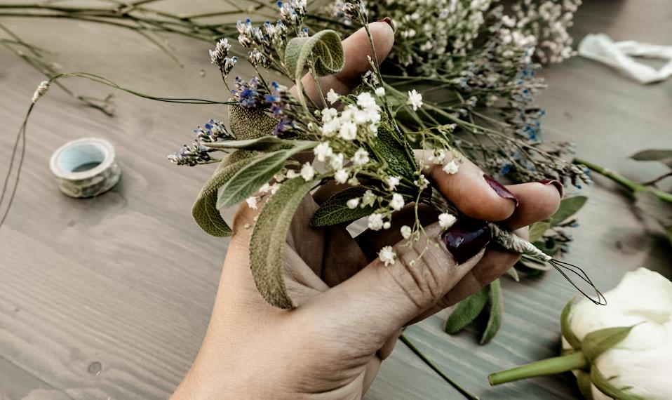 DIY Bohemian Flower Crown