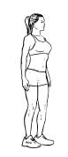 Körperhaltung verbessern und Rückenschmerzen vorbeugen