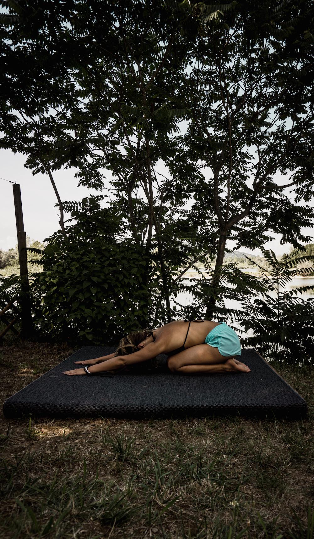 5 Yoga Übungen für weniger Rückenschmerzen Balasana