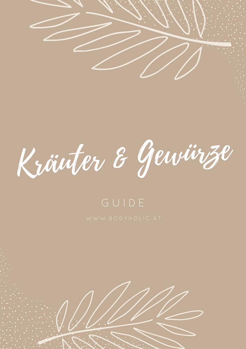 Kräuter und Gewürze Guide