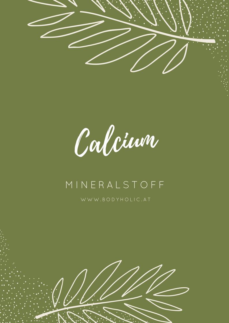 Mineralstoff Calcium