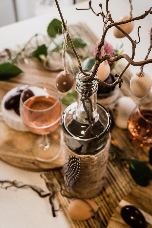 Zuckerfreie Osterpralinen mit Bree Pinot Noir Rose