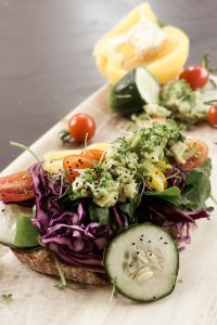 Vegan Healthy Breakfast Toast