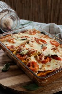 Vegetarische Lasagne, die wie normale Lasagne schmeckt