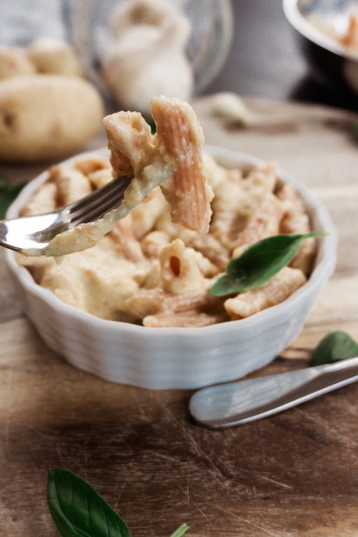 Vegan Mac n Cheese ohne Macaroni und ohne Käse