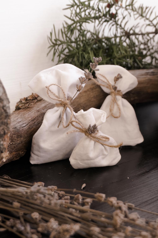 Upcycling DIY Lavendelsäckchen nähen