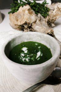 Vegane Bärlauch-Kartoffel-Suppe