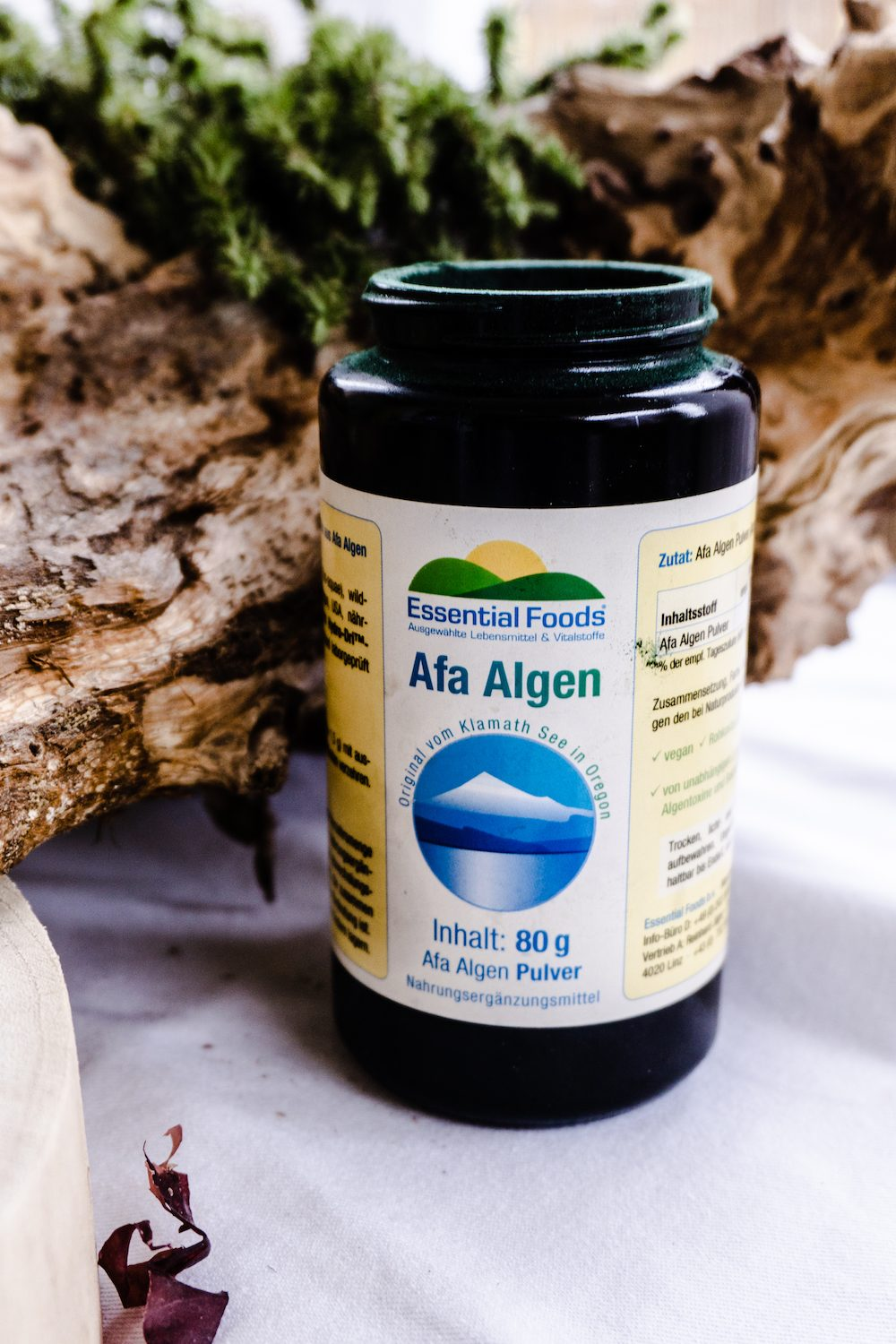 Algenpower - veganes Superfood.