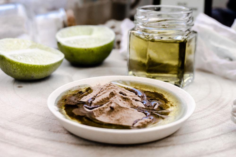 Schöner mit Olivenöl