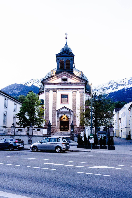 Kirche Innsbruck - Innsbruck, du bist so schön.