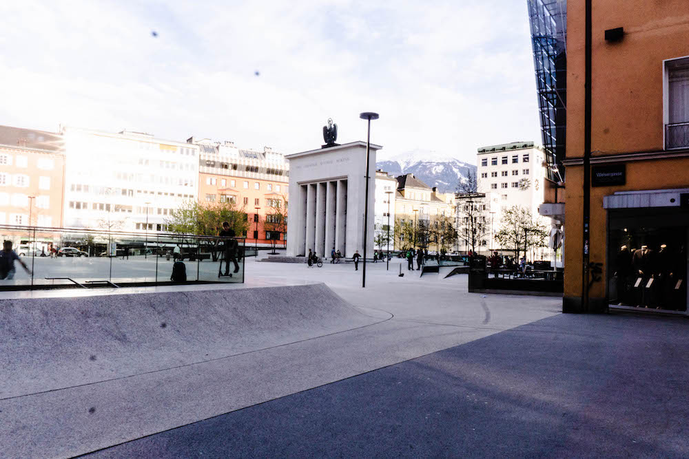 Skateplatz Innsbruck