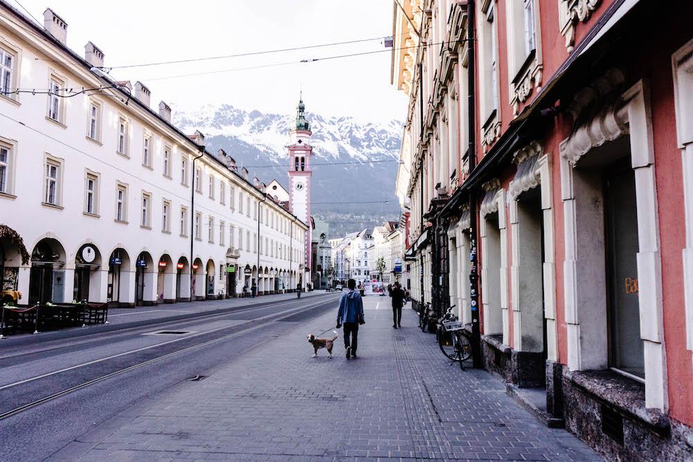 Innsbruck mit Hund