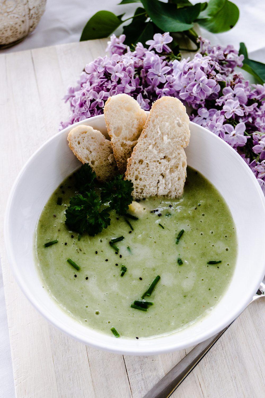 Spargel Kartoffel-Suppe