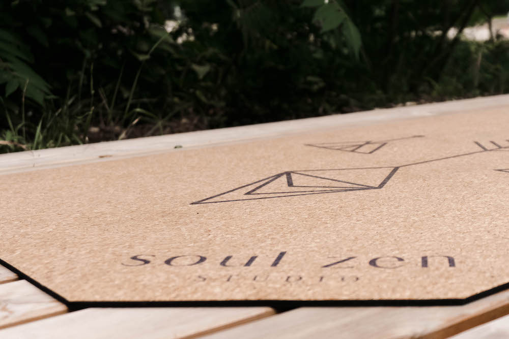 Meine nachhaltige Yoga Matte aus Kork von Soul Zen