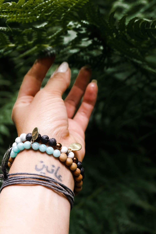 Heilstein-Armbänder