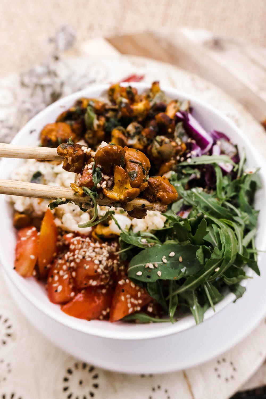 Vegan Iron Rich Buddha Bowl - Rezept zur Deckung des Eisenbedarfs