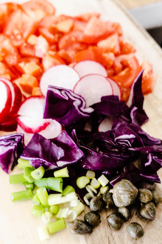 Gemüse schnippeln