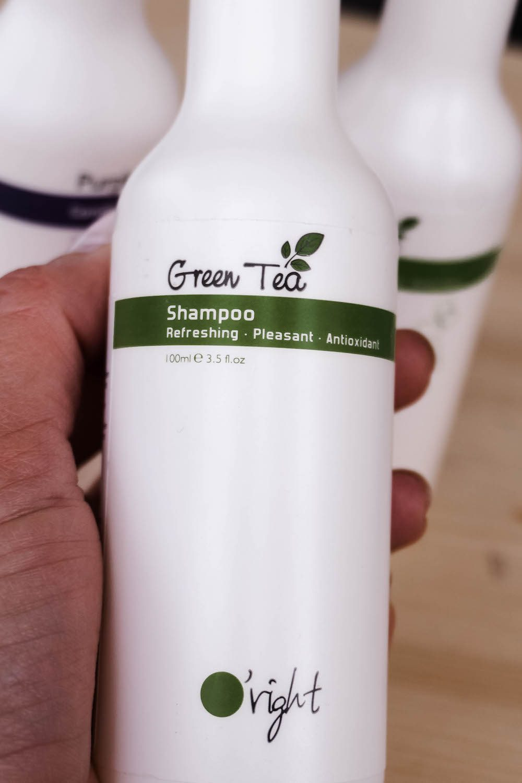 Nachhaltige Haarpflege für den Sommer - O'right Green Tea Shampoo bei Douglas