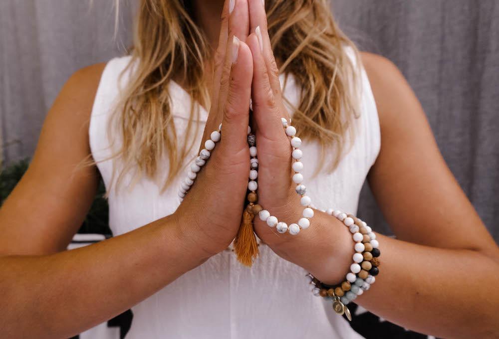 Meine Mala Kette - für Meditationen und Yoga Flows
