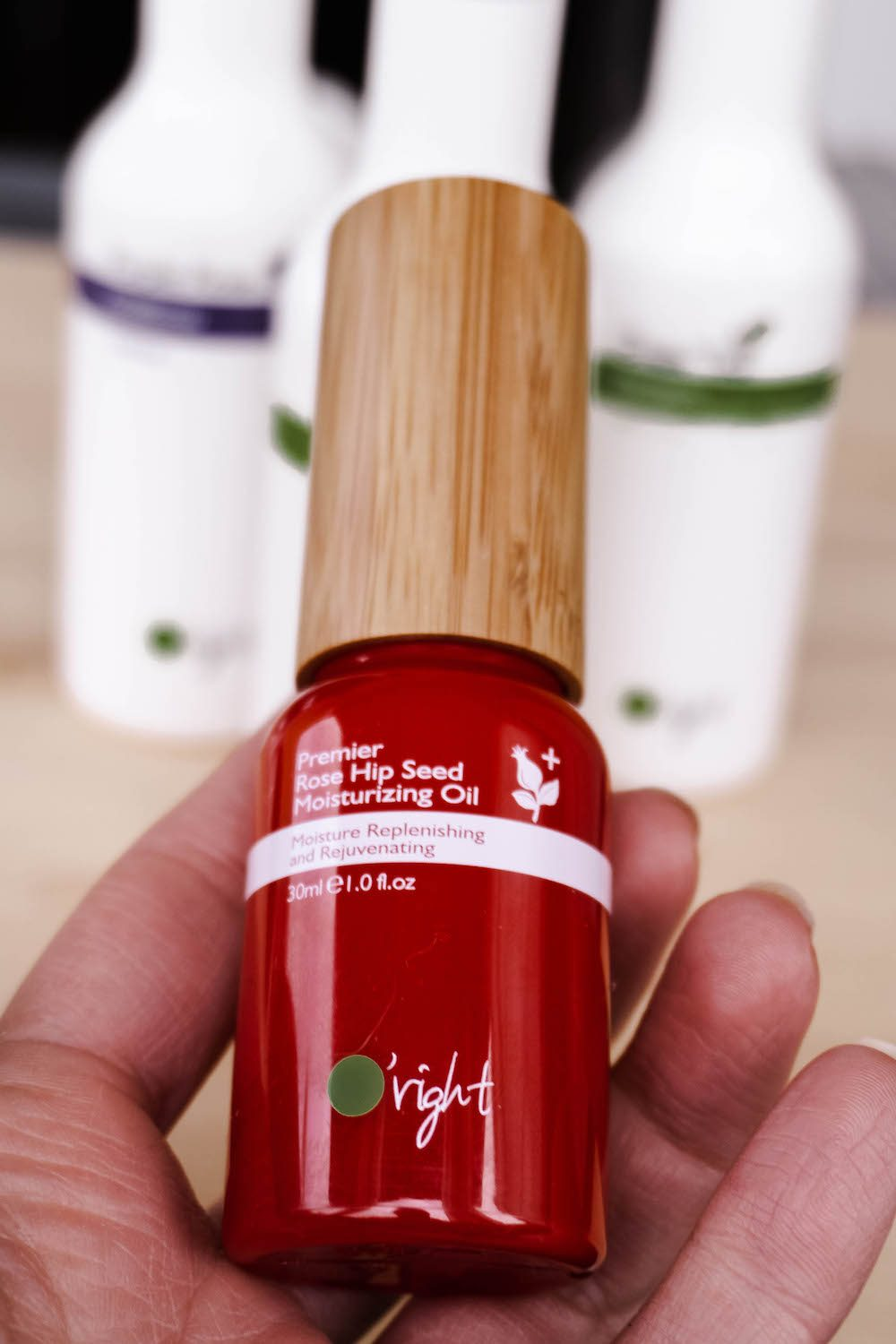 Rose Hip Seed Öl - Sustainable Haircare Oright