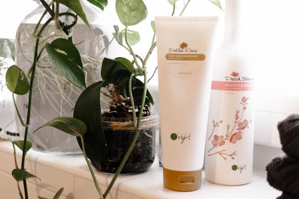 Nachhaltige Haarpflege für den Sommer - Golden Rose Peach Blossom Oright