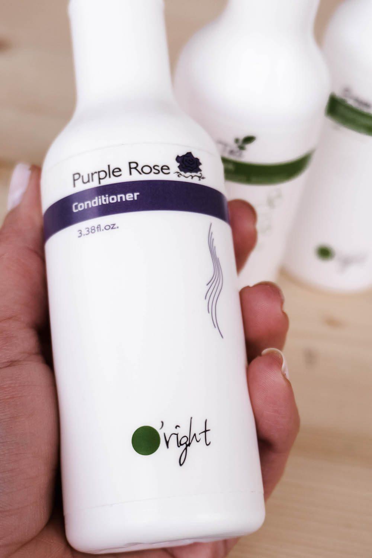 Nachhaltige Haarpflege für den Sommer - Oright Conditioner Purple Rose