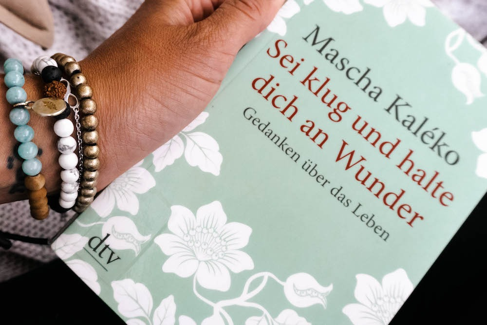 Sei klug und halte dich an Wunder - Buchempfehlung