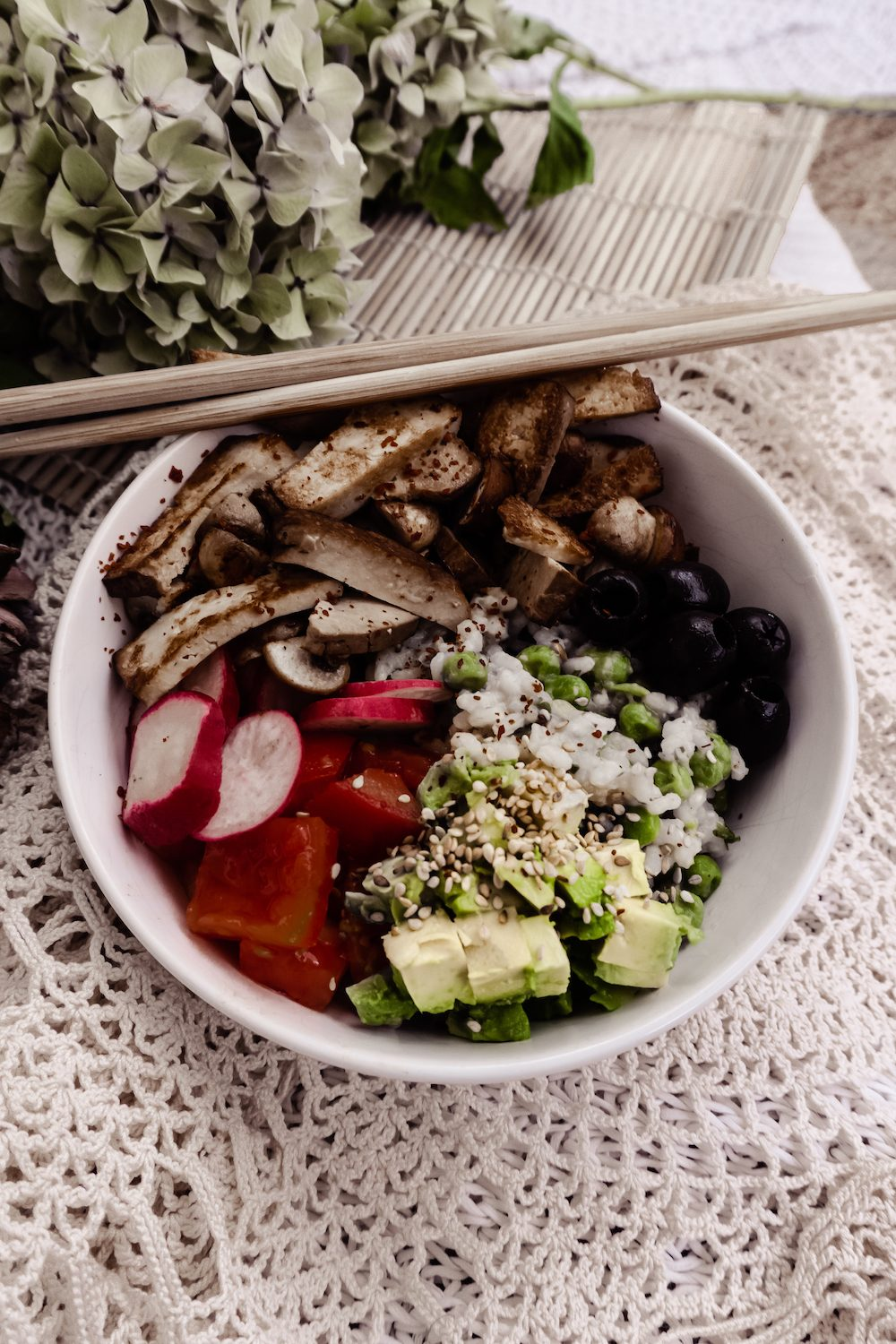 High Protein Buddha Bowl