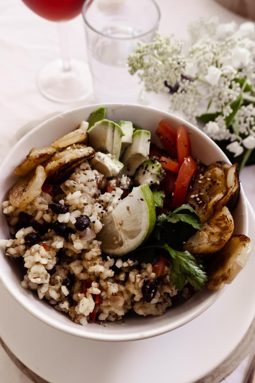 Vegane Gallo Pinto Bowl