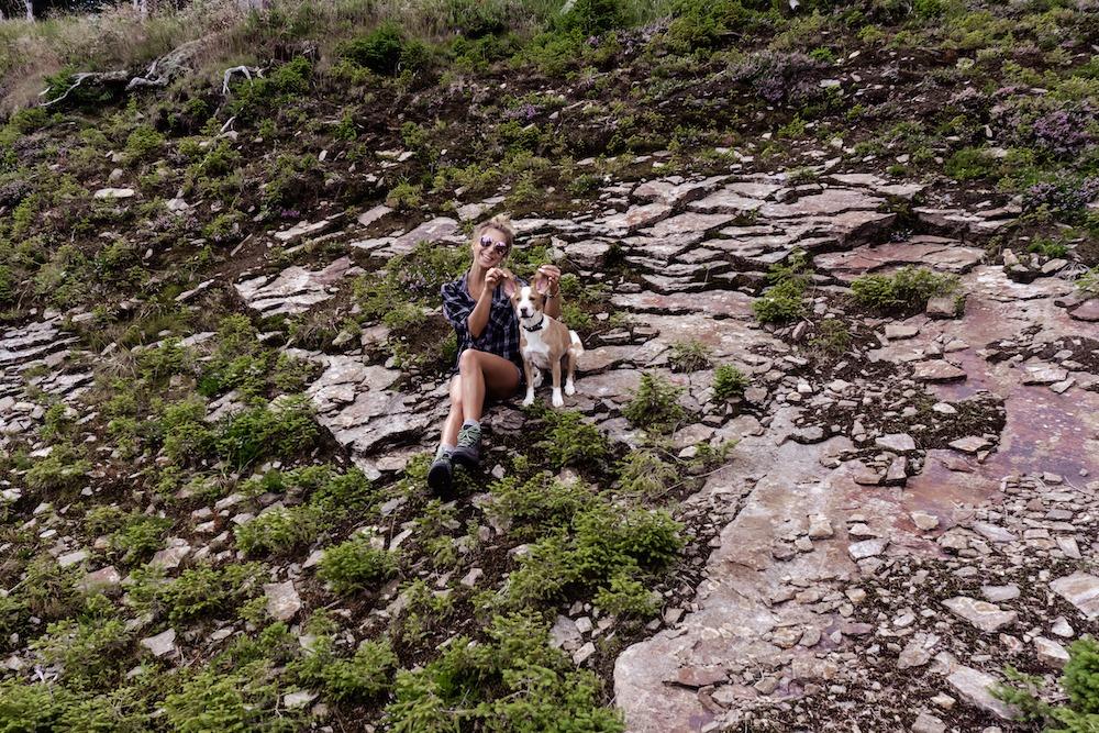 Wanderung mit Hund von der Schirchleralm zur Glitzalmhütte