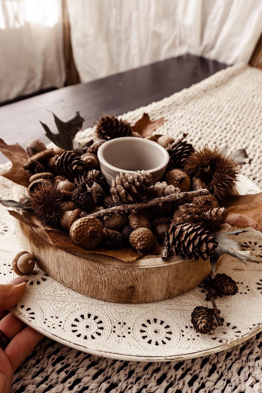 Herbstliche Dekoration für weniger als 5 Euro