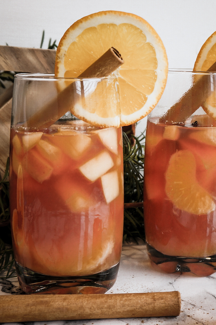 Vegan Christmas Punch