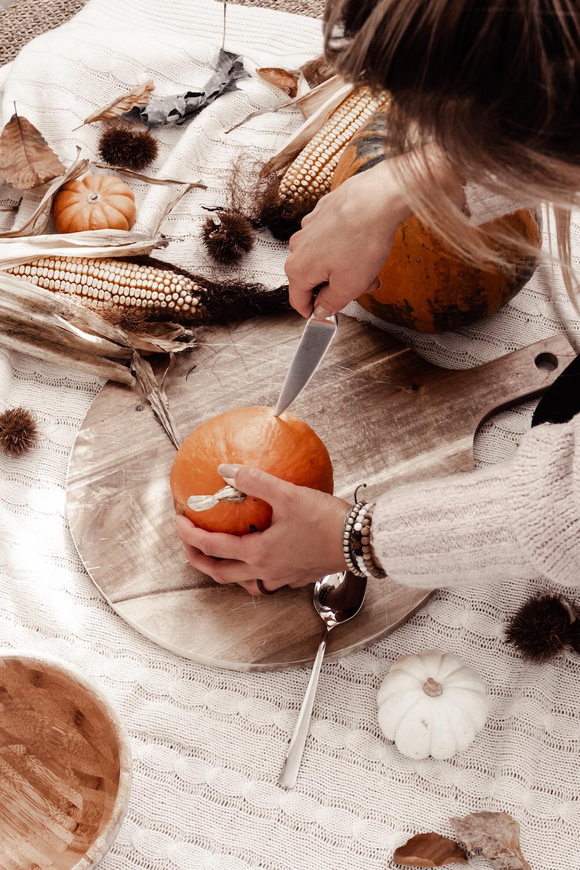 Saisonales Gemüse und Obst November