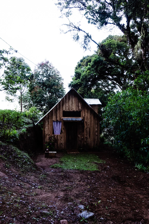 Eine Woche in Costa Rica - Hütte Samadi Hochland Dota