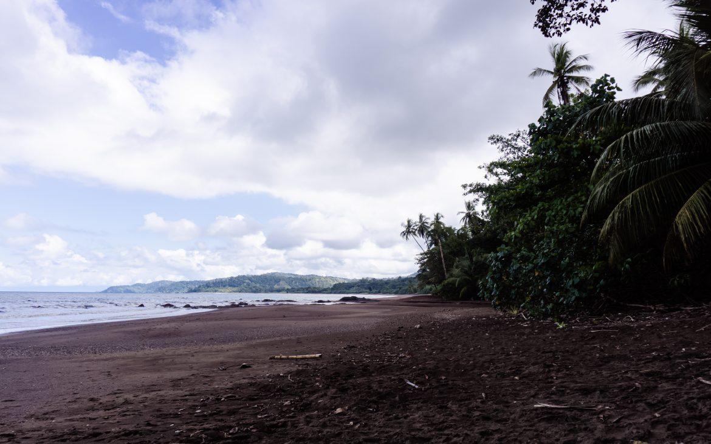 Die Pazifikküste Costa Rica's rauf und runter - Drake Bay Beach