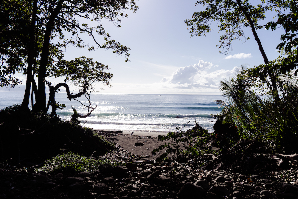 Die Pazifikküste Costa Rica's rauf und runter - Matapalo Beach