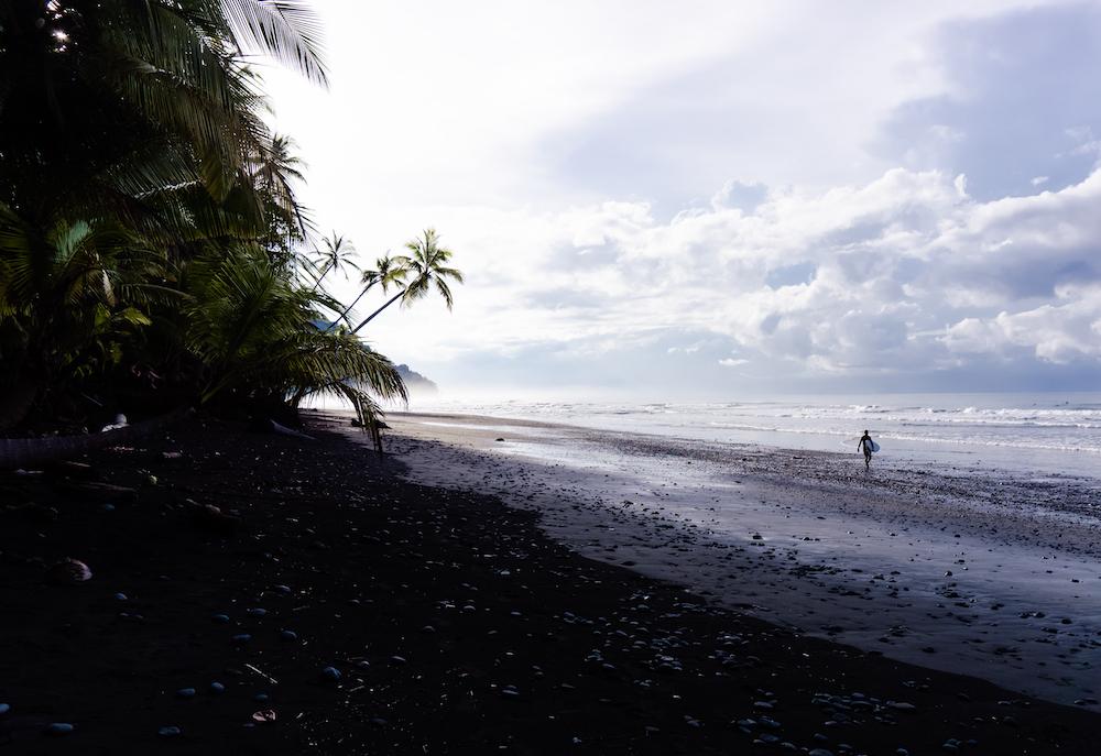Die Pazifikküste Costa Rica's rauf und runter - Pavones Strand