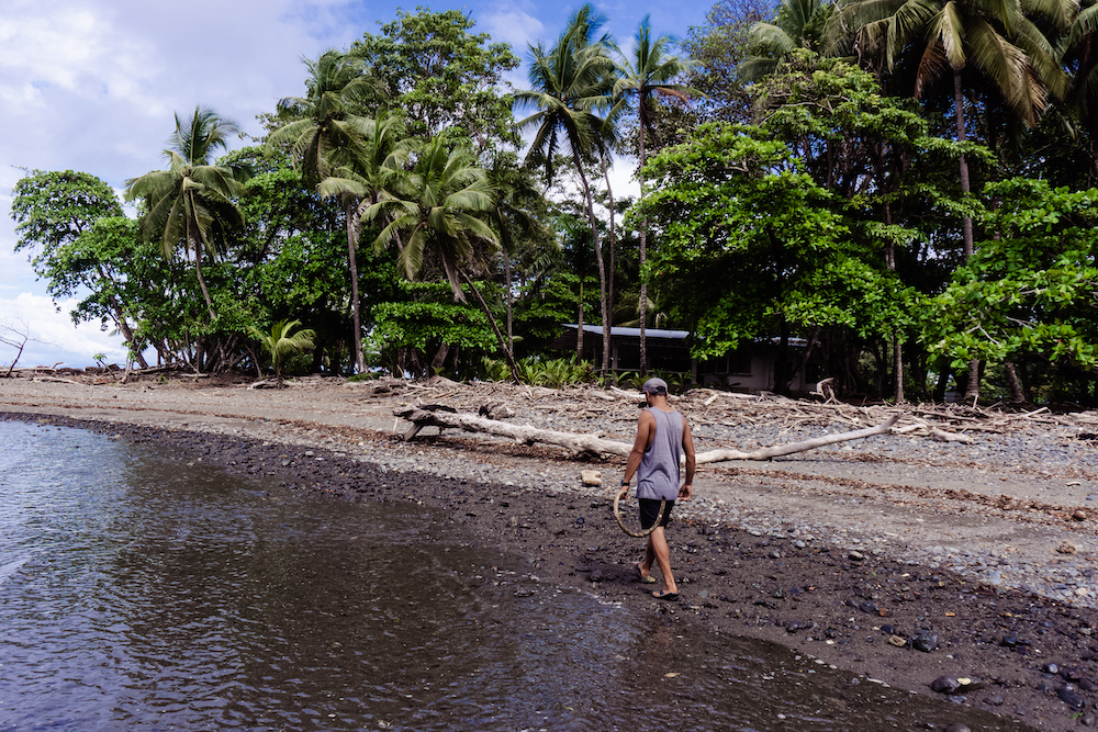 Die Pazifikküste Costa Rica's rauf und runter - Strand Pavones