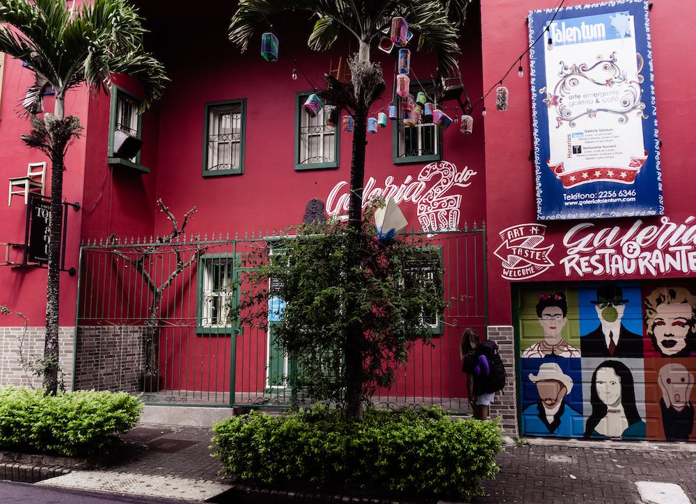 Eine Woche in Costa Rica - San Jose Künstlerviertel