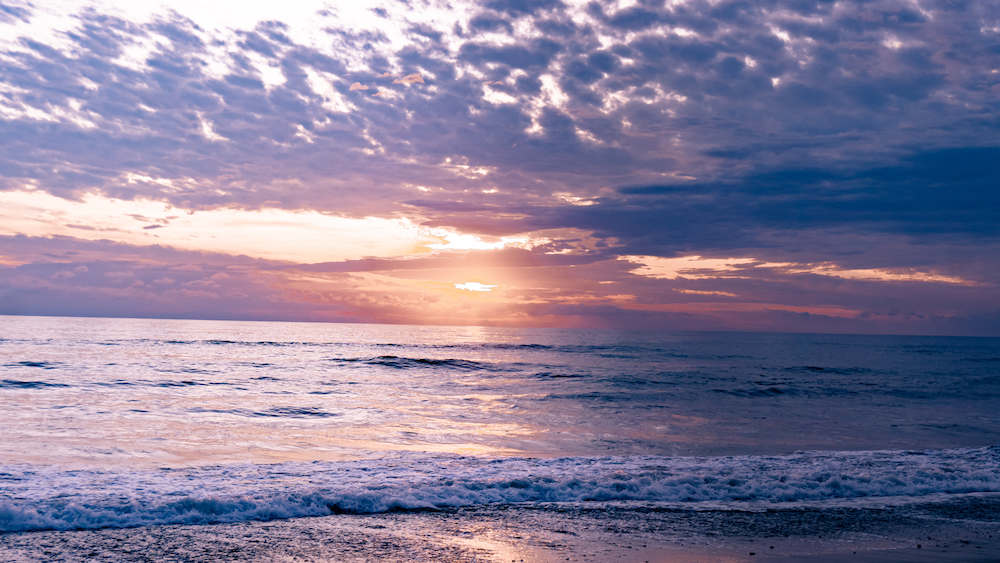 Eine Woche in Costa Rica -  Sonnenuntergang Dominical