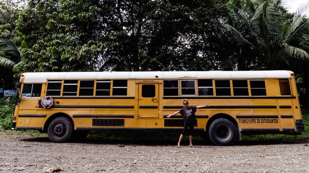 Die Pazifikküste Costa Rica's rauf und runter - Bus
