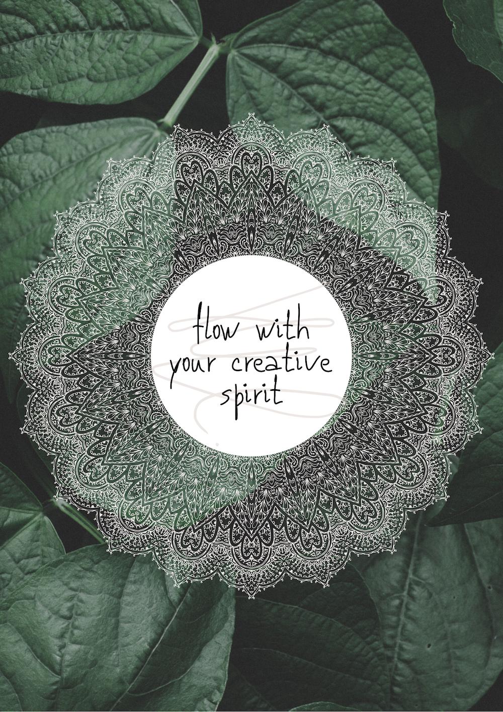 Mandala malen - 30 Dinge für Zuhause