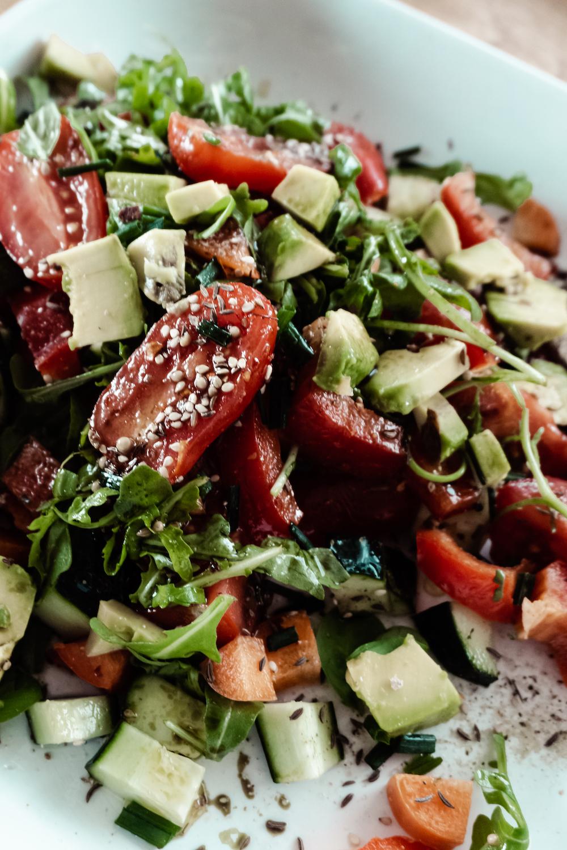 MEINE VEGANEN SOMMERREZEPTE - knackige Salate