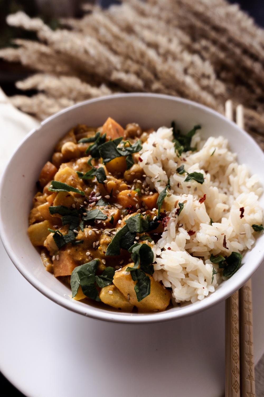Curry Rezept mit Kürbis