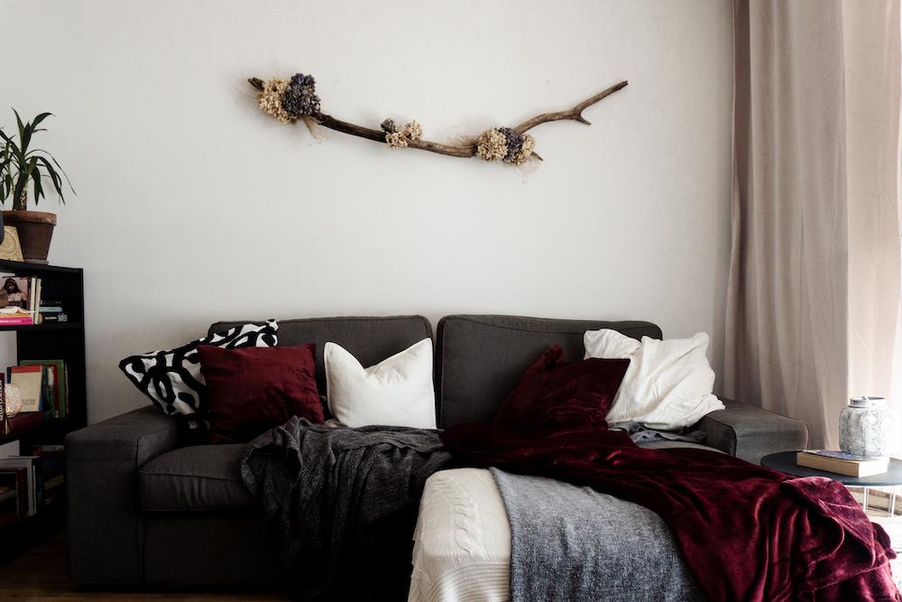 Sofa-Ecke Wohnzimmer