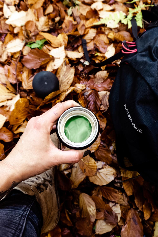 Wanderausstattung für den Herbst