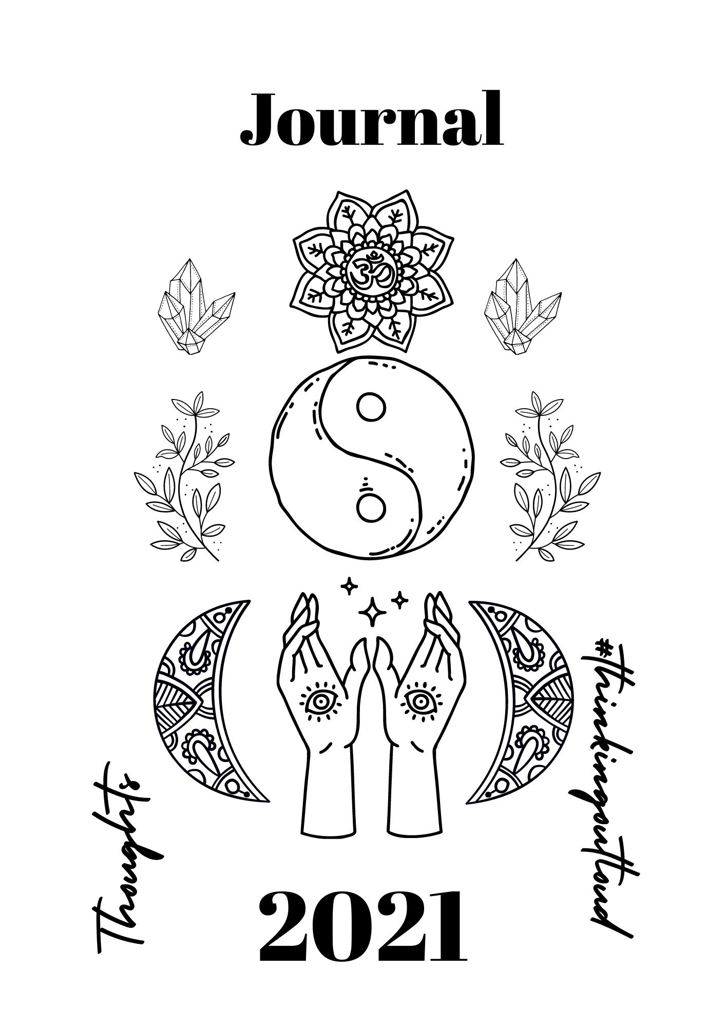 Journal erstellen Sticker + Symbole