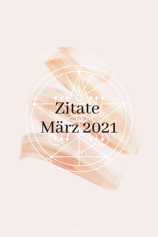 Meine Lieblingszitate im März 2021