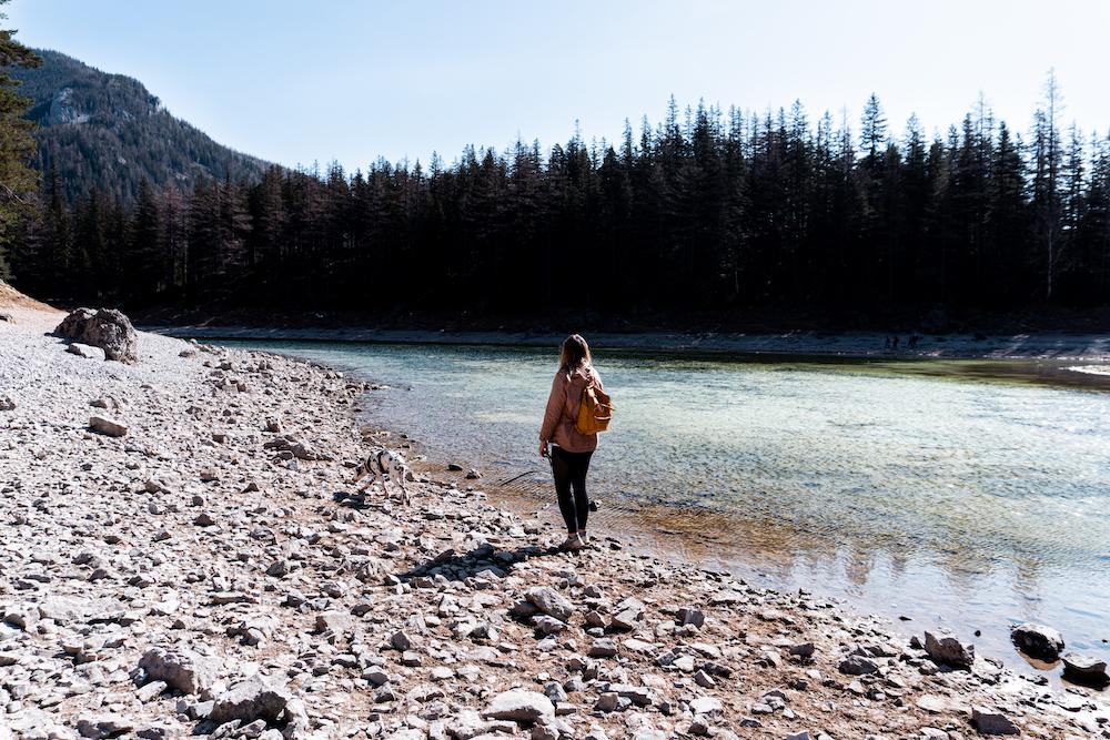 Wanderung zum Grünen See mit Hund